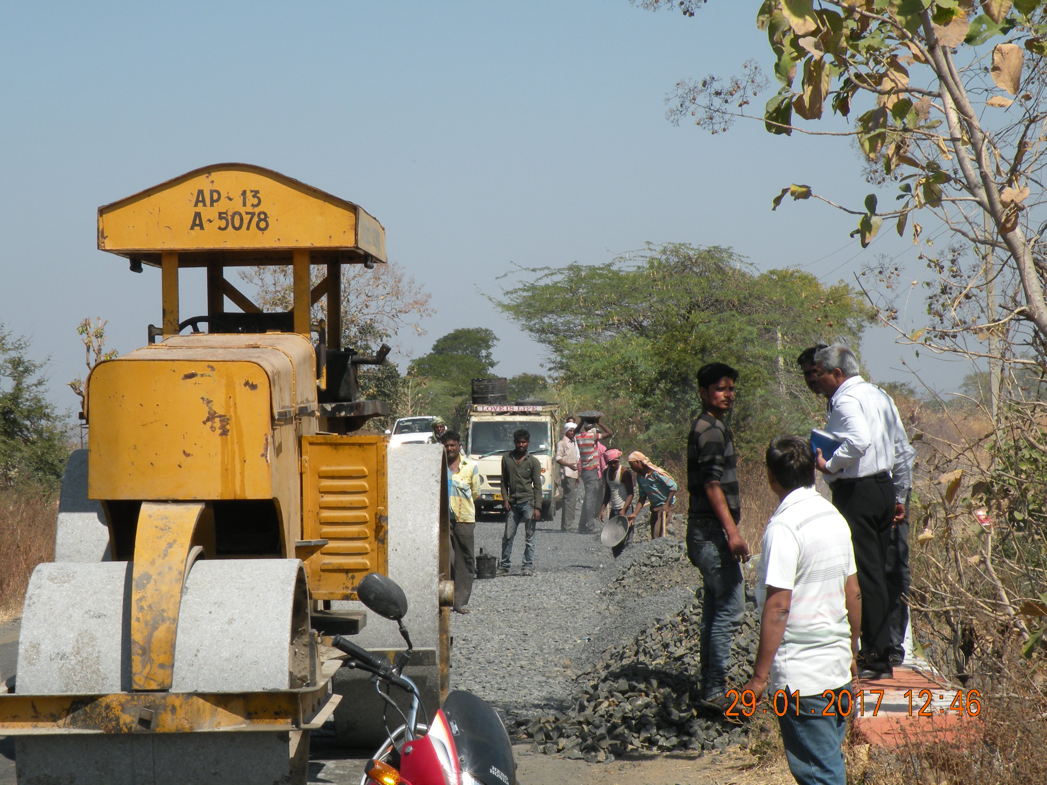 Upgradation Of Nanded Kinwat-Mahur-Arni Road Section From Sarsam Budruk To Kothari (Design 57 Km) To Two Lanes With Paved Shoulder Of NH 161 A In The State Of Maharashtra On EPC Mode