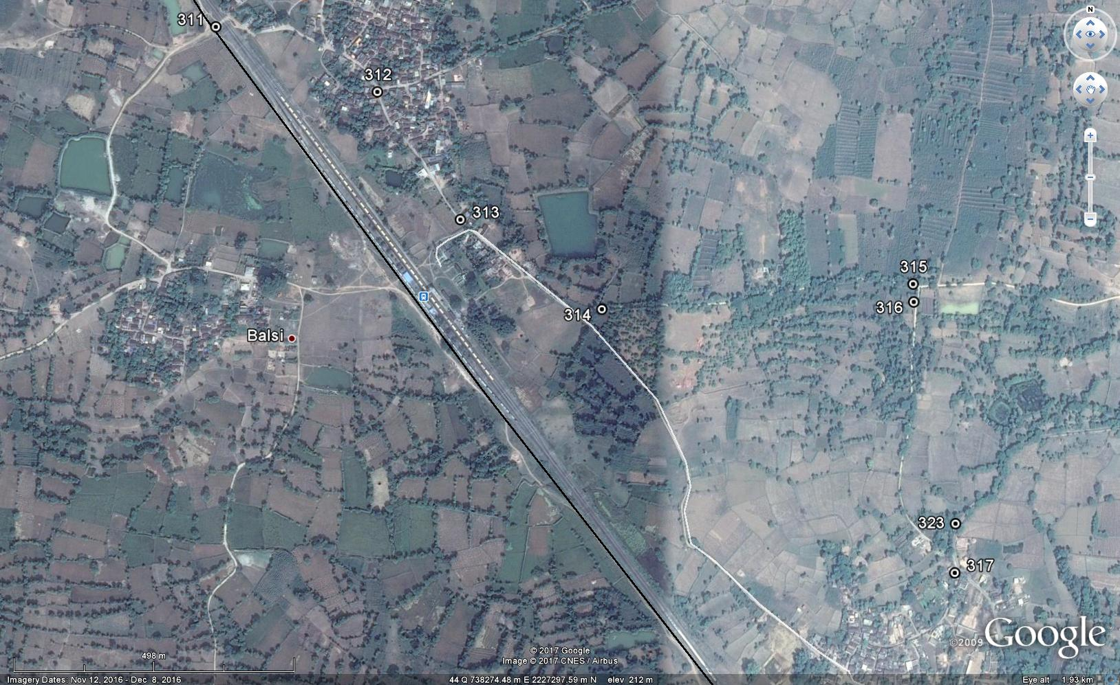 Survey Demarcation, Preparing Proposal For Relocation Of Pipe Line In Specified Stretches Of Rising In Consultation With Railway Authorities At Lanjigarh, Kalahandi, Orissa