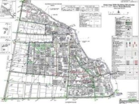 Integrated Slum Development Nagpur. Scope: Detail Engineering and project proposal reports for about 40 slums covering more than 10 sq km area.