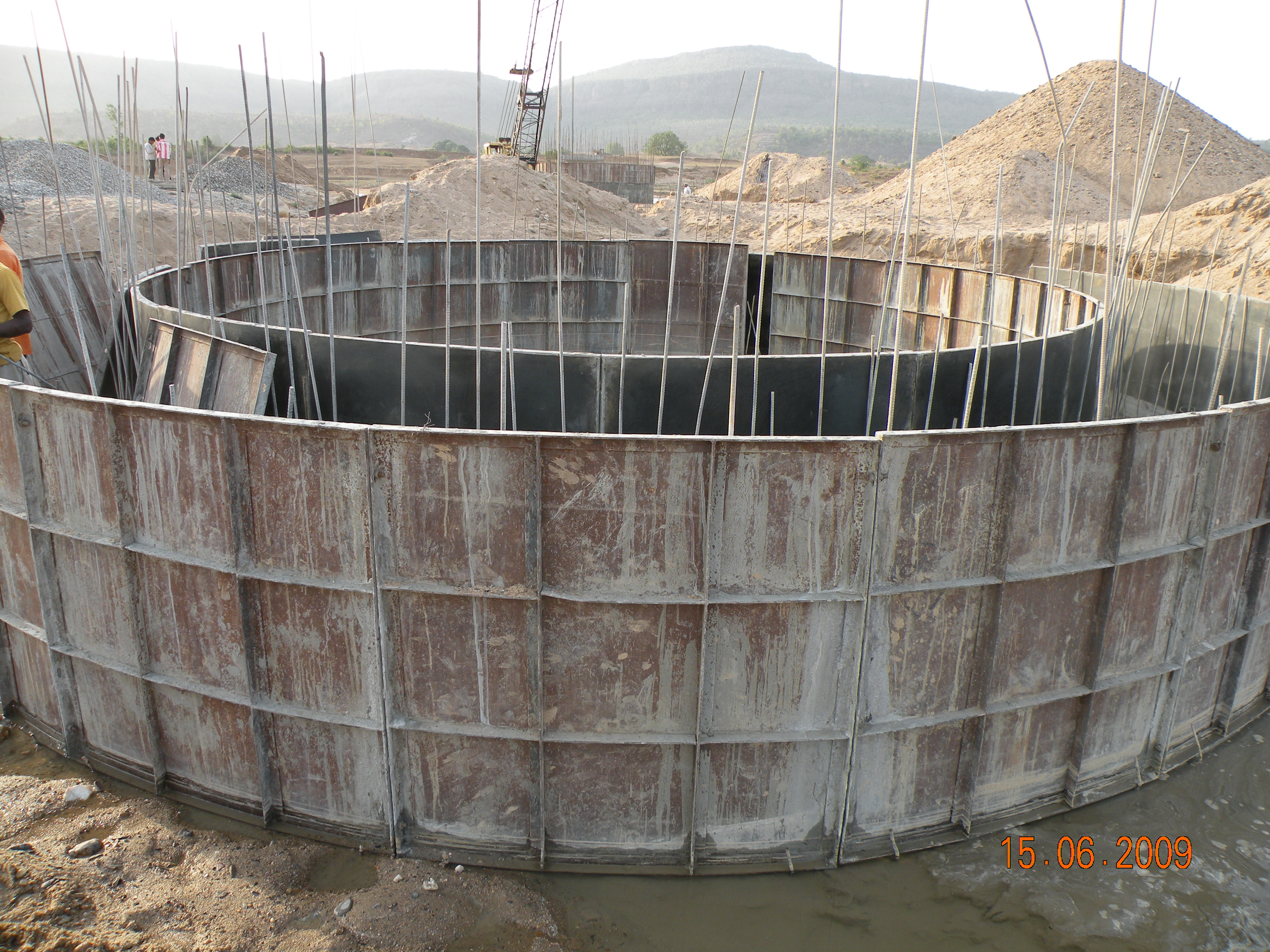 20000 m<sup>3</sup>/hr Raw Water Supply for 3960 MW UMPP of Reliance Power at Chitrangi, Dist. Singrauli, MP; including detailed source reliability analysis